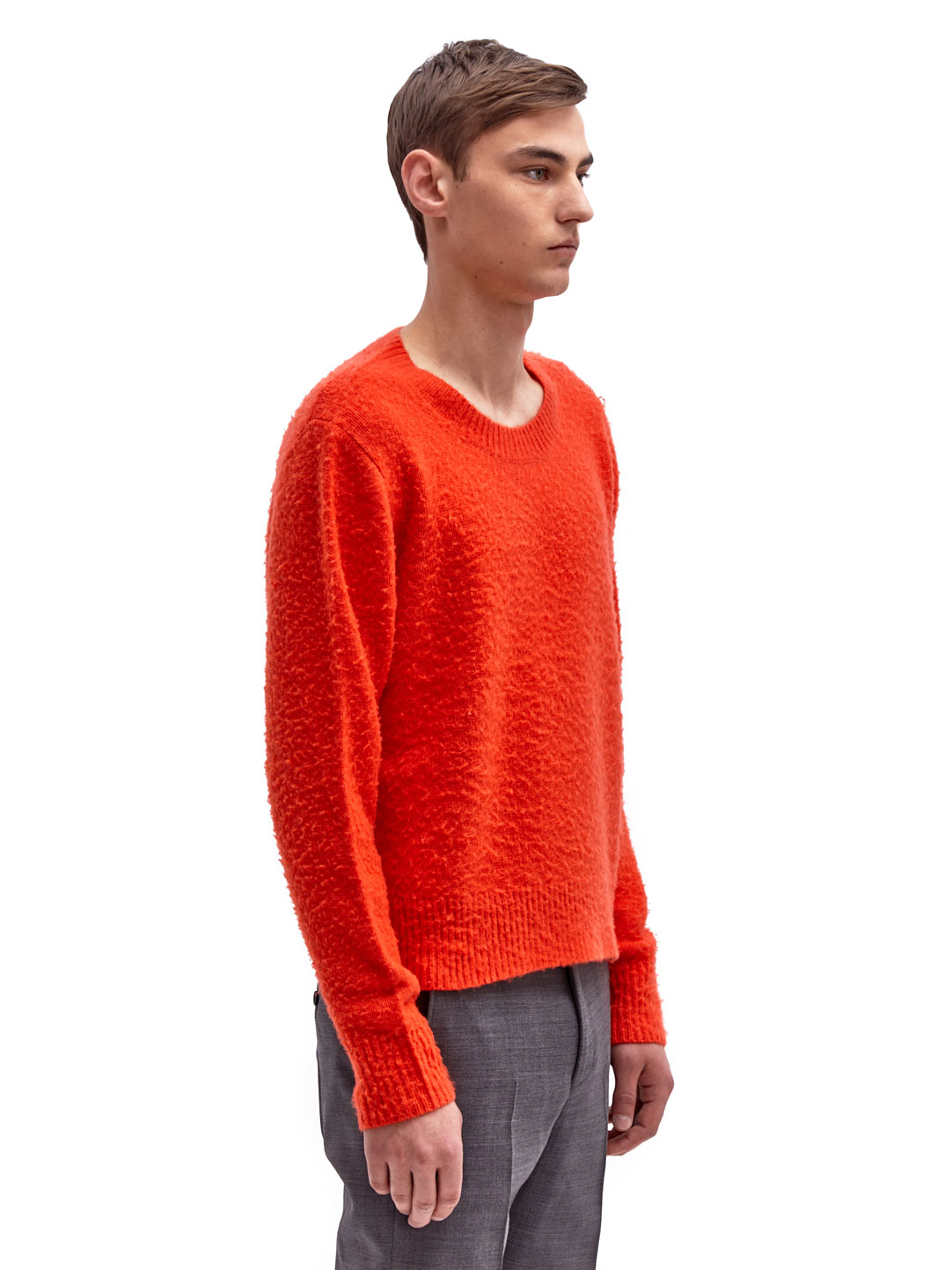 acne studios peele sweater in orange for men lyst. Black Bedroom Furniture Sets. Home Design Ideas