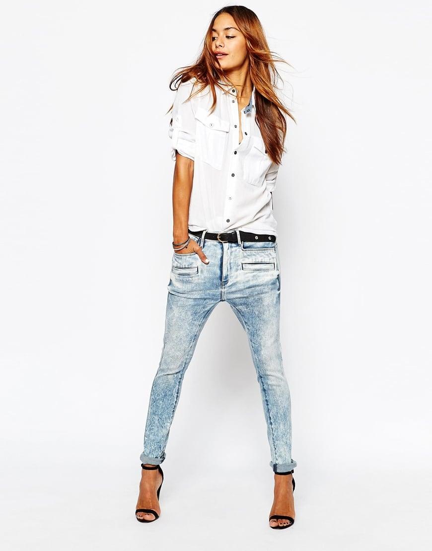 56c3bbb7680 G-Star RAW Davin 3D Boyfriend Jeans in Blue - Lyst