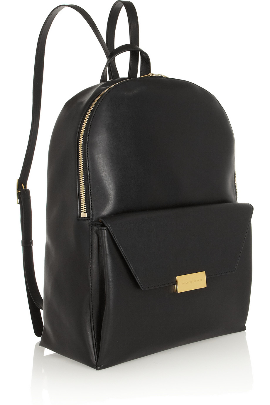 stella mccartney beckett faux leather backpack in black lyst. Black Bedroom Furniture Sets. Home Design Ideas