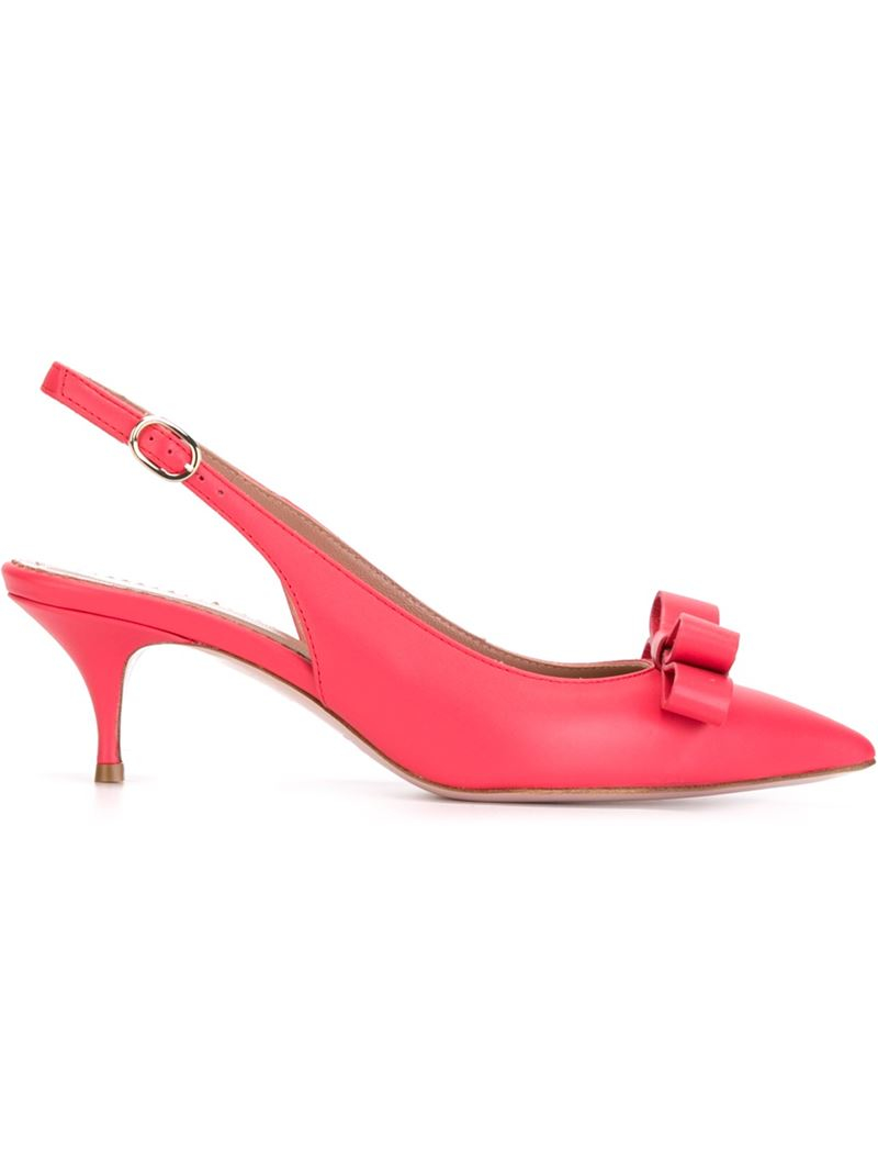 Carvela Red Bow Shoes
