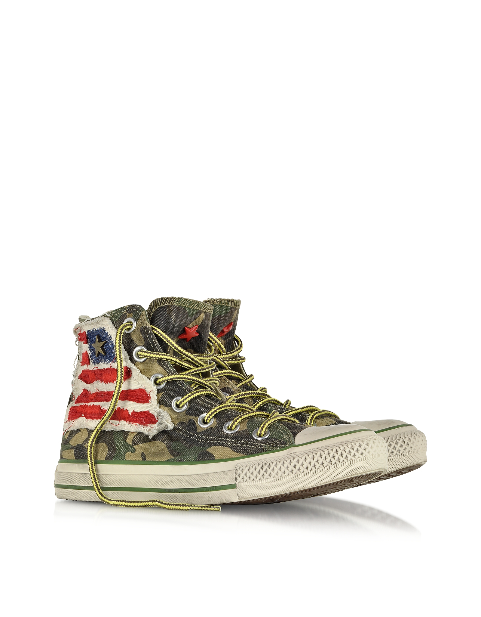 Converse All Star Hi Canvas Ltd Camo Graduate Flag Sneaker