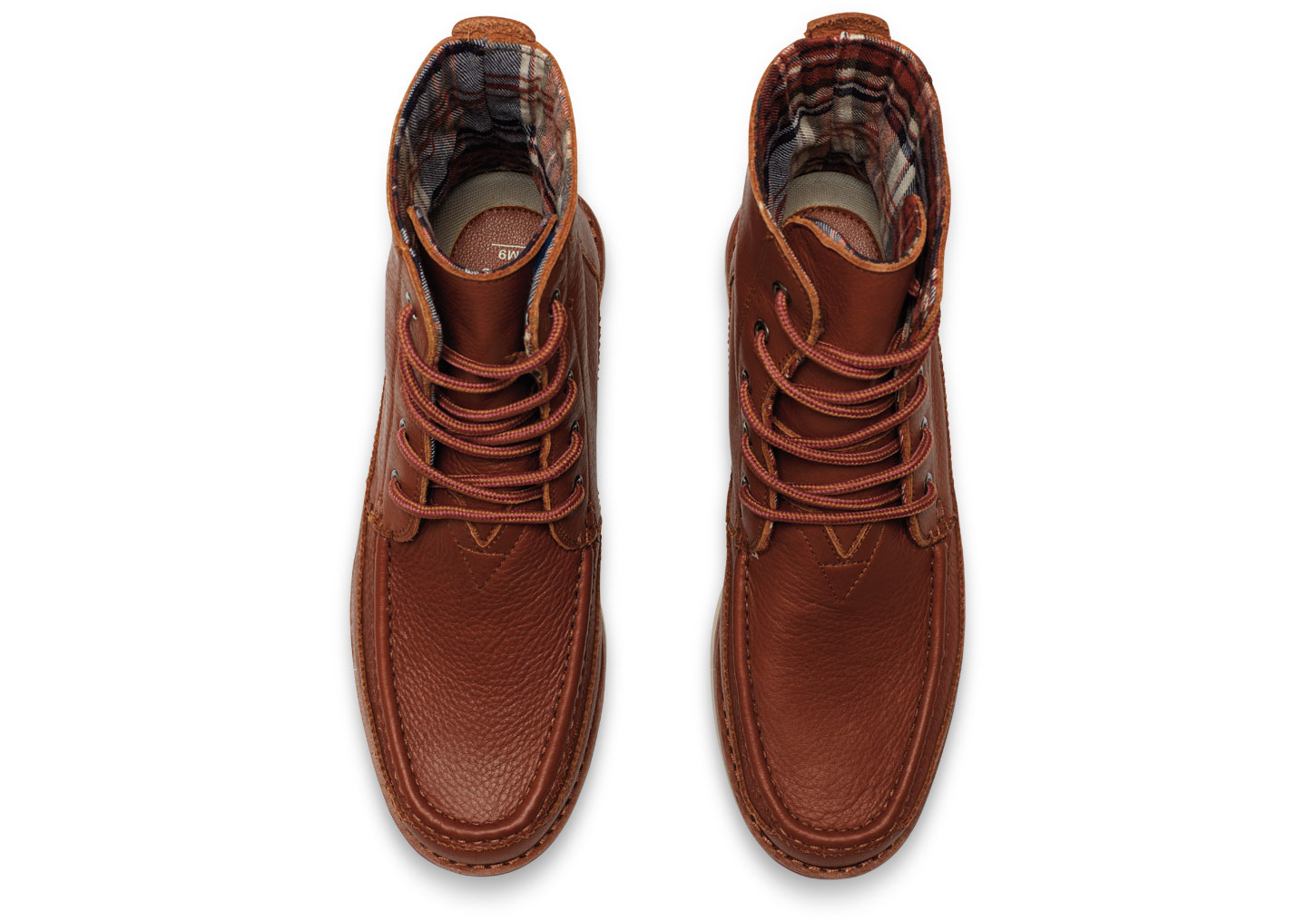 Lyst Toms Brown Full Grain Leather Men S Searcher Boots