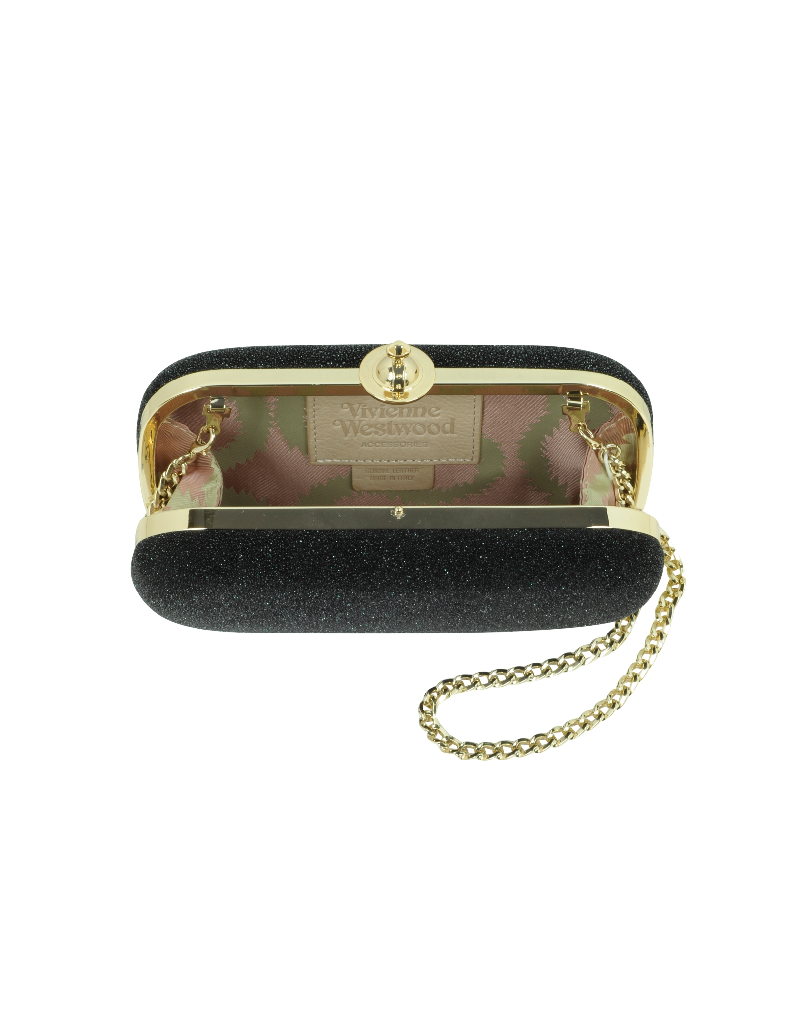 780ad6ac46d9e Lyst - Vivienne Westwood Angel Small Black Clutch in Black
