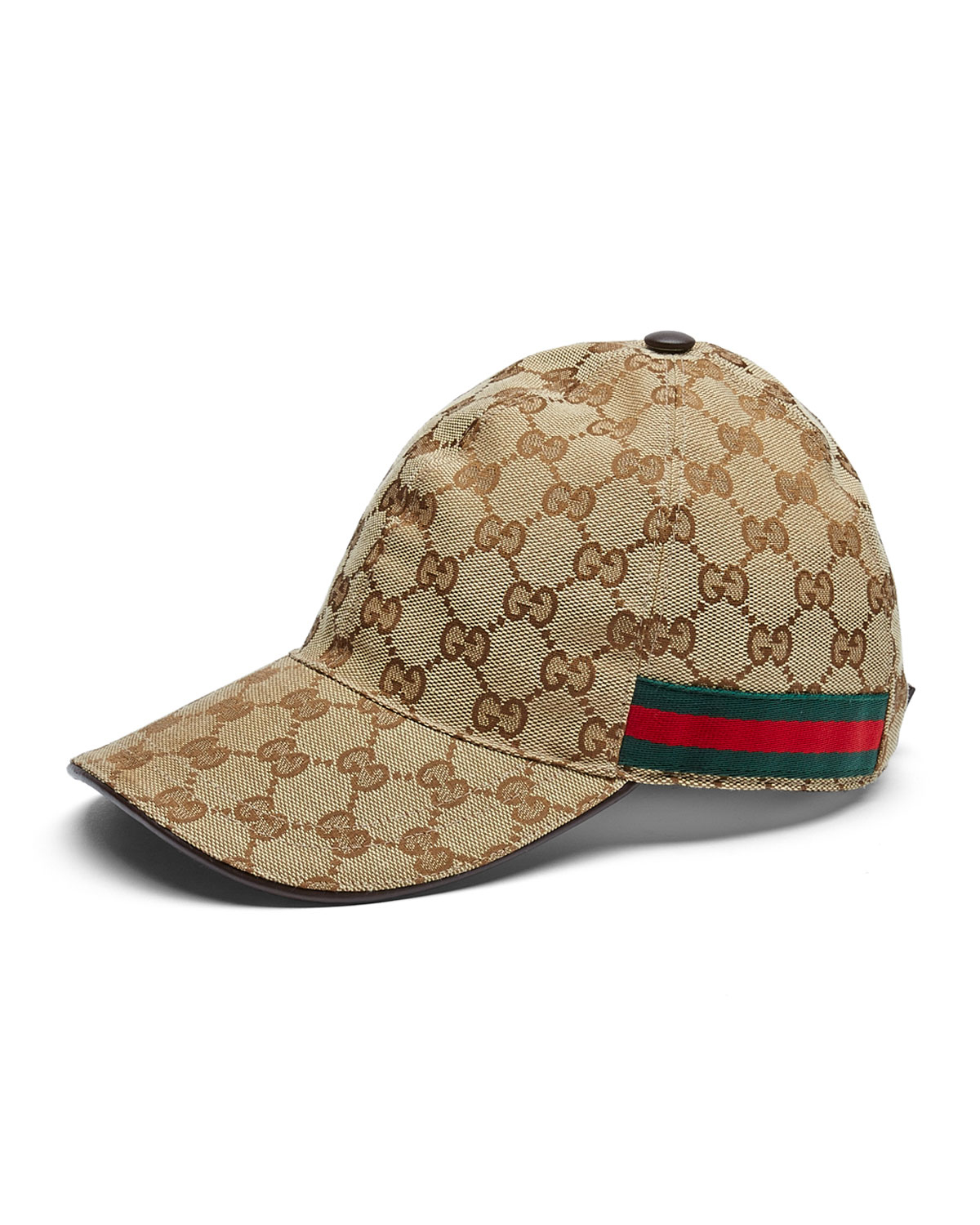 7e5e4d0dfb2 Lyst gucci canvas baseball hat in brown for men jpg 1200x1500 Gucci hats  for men