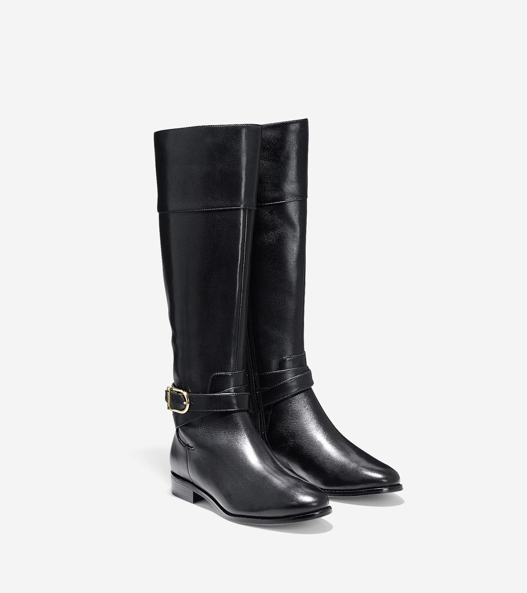 cole haan catskills boot in black lyst