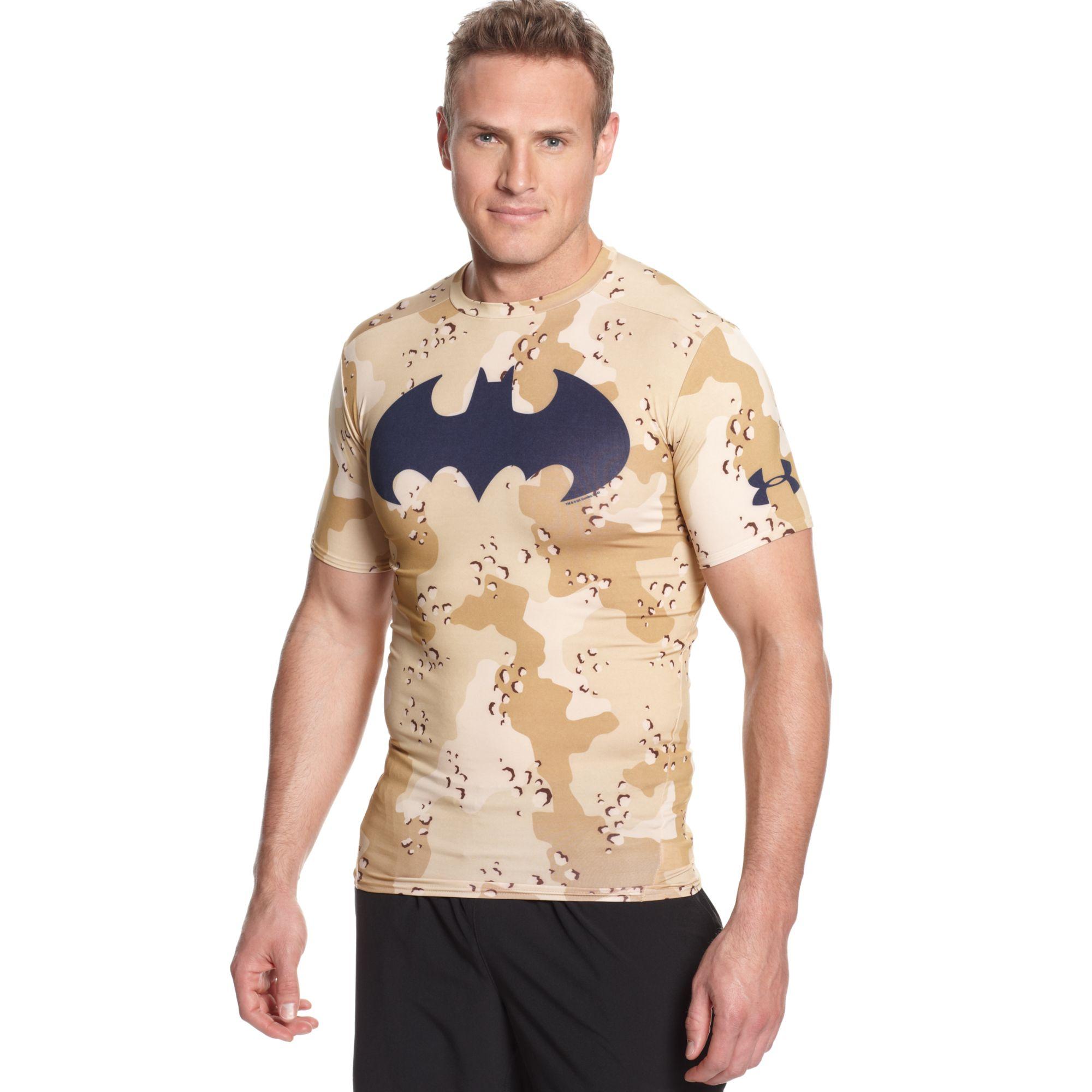 Lyst - Under Armour Alter Ego Batman Camouflage Compression Tshirt ... a9bd88118b5f