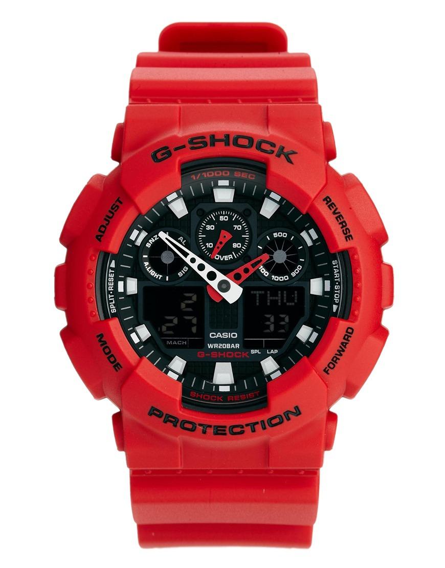 часы g shock ga 100b 4aer лета