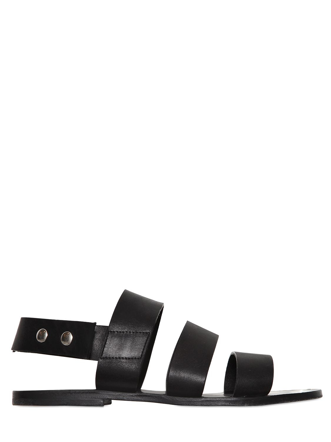 DAMIR DOMA Leather Sandals EAl4F
