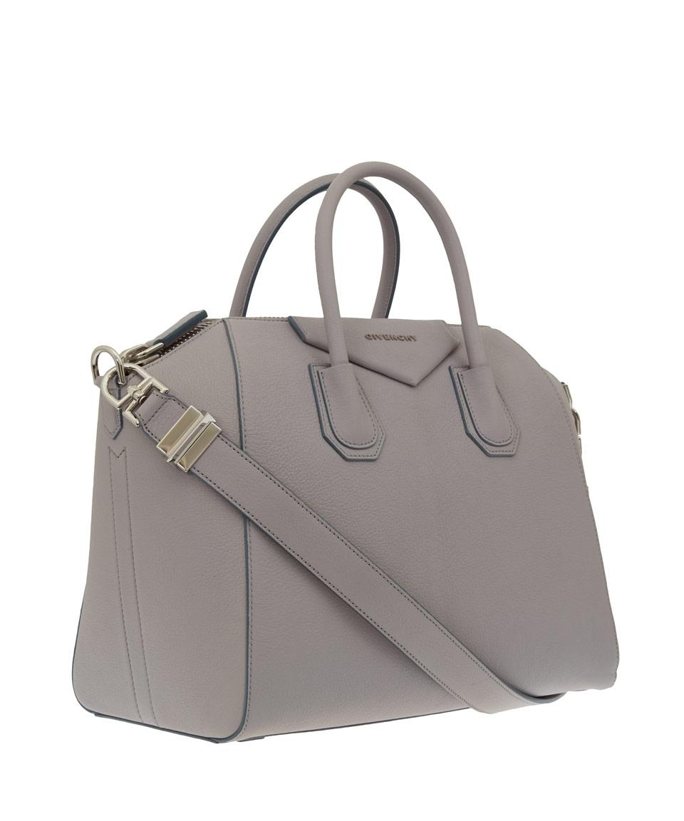 Givenchy Medium Grey Antigona Bag in Gray - Lyst 81440ef5795f3