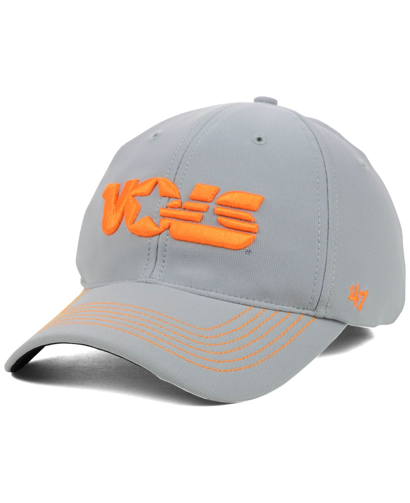 7de83a531492e ... shopping lyst 47 brand tennessee volunteers game time closer cap in  gray 48a4e 0e0bd