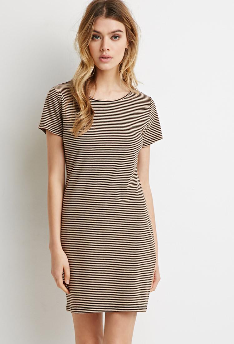 River Island Short Sleeve Striped Sweater