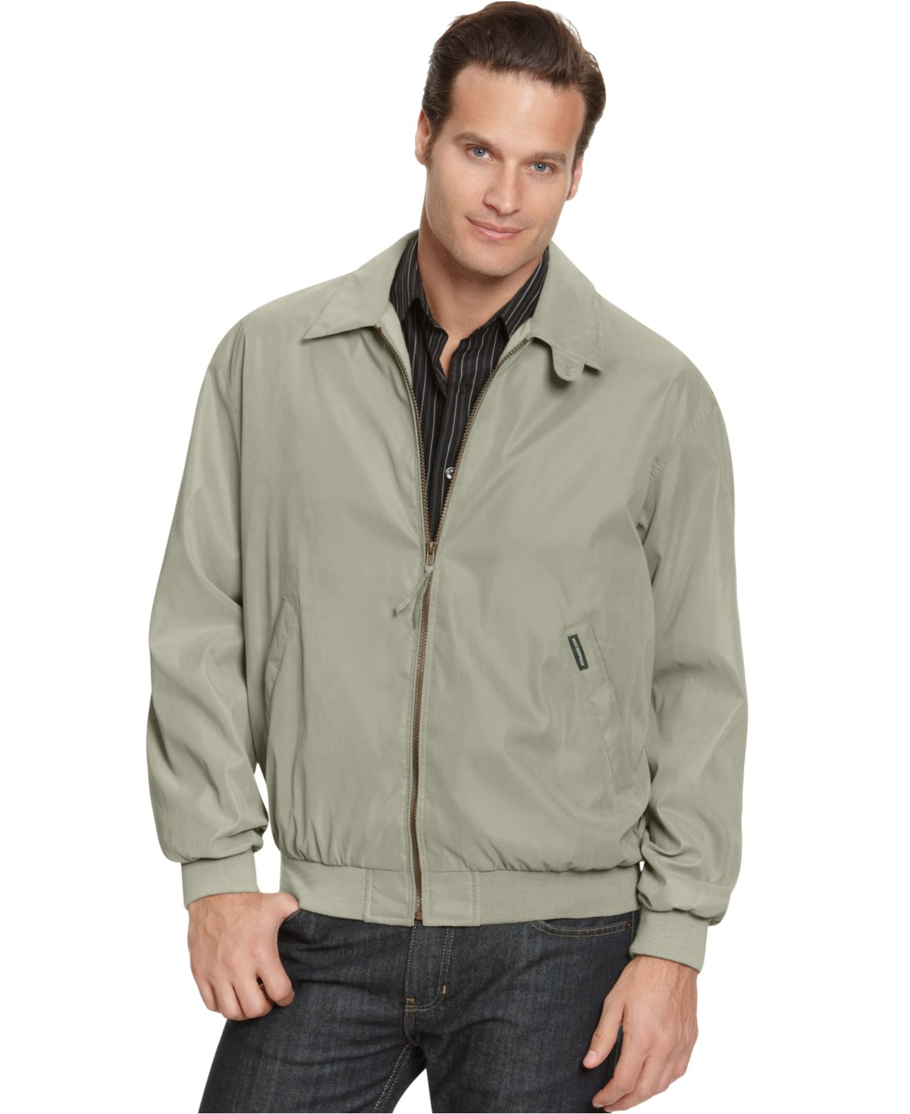 Weatherproof Lightweight Bomber Jacket in Natural for Men | Lyst
