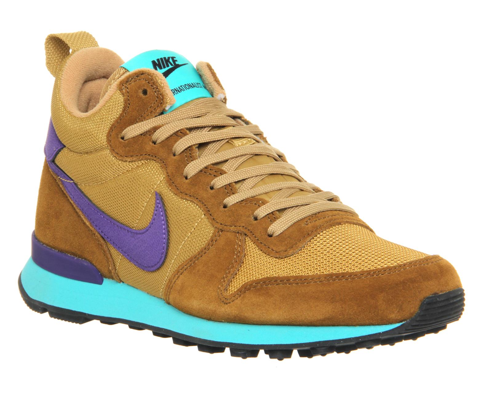 big sale 0ec6f 18d84 Nike Internationalist Mid Wmns in Brown - Lyst