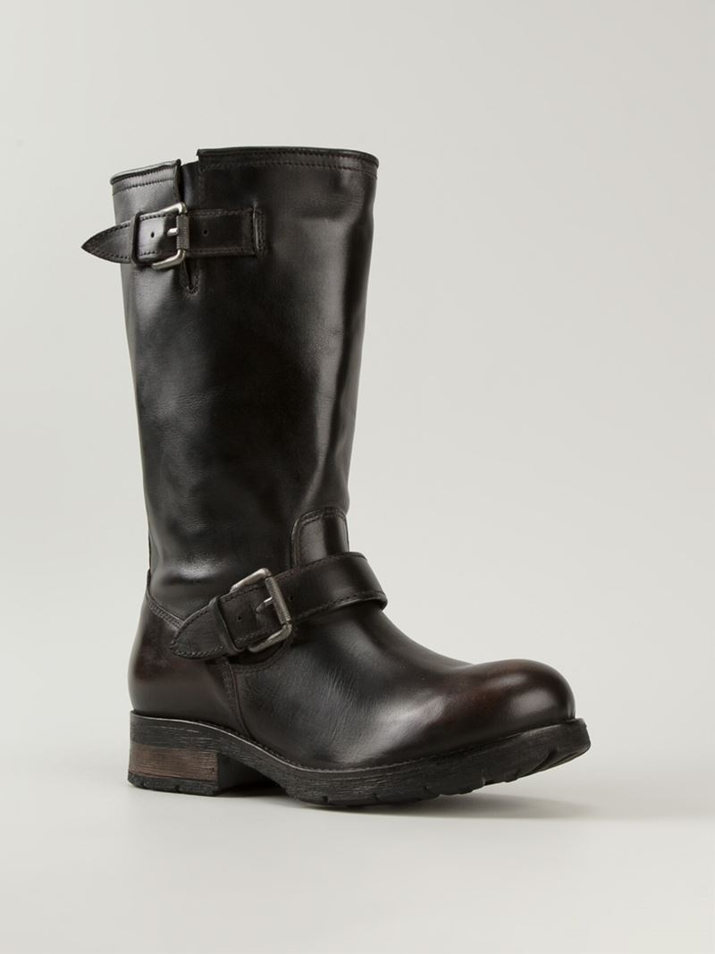 Diesel Leather Biker Boots Release Dates K5Zw3ZSFV