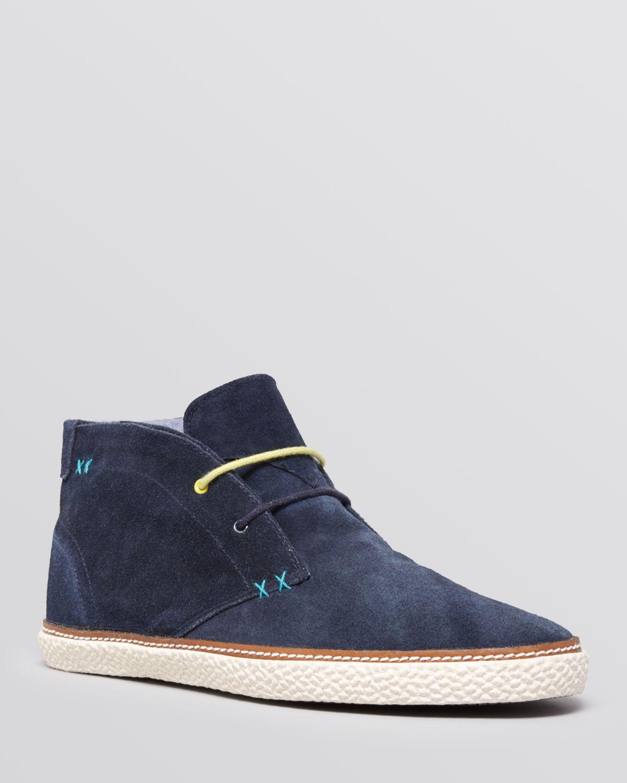 62e8b5929e6e7e Lyst - Ted Baker Abdon 2 Espadrille Chukka Boots in Blue for Men