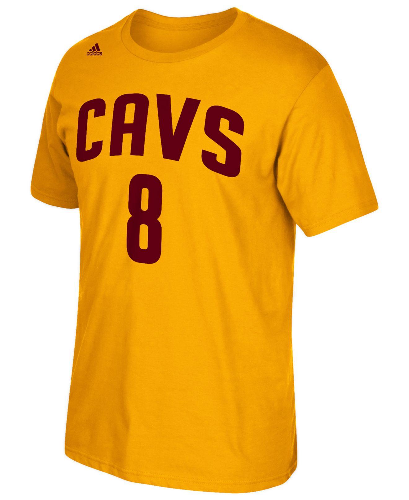 e59d9ed861b adidas Men s Matthew Dellavedova Cleveland Cavaliers Player T-shirt ...