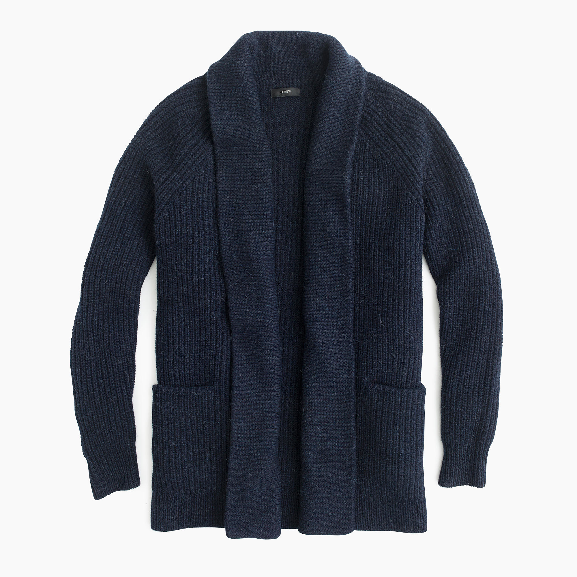 J.crew Petite Open Cardigan Sweater in Blue for Men | Lyst