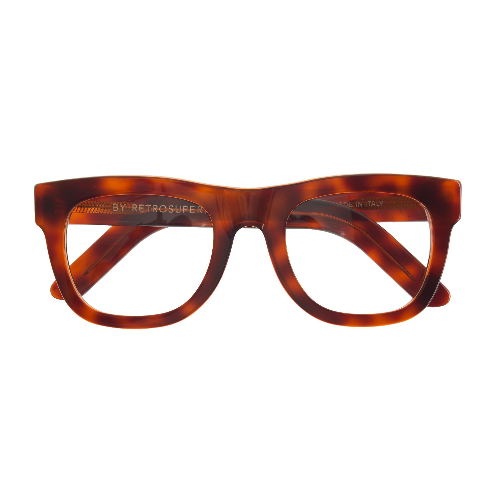 e111132c12 Lyst - J.Crew Super™ Ciccio Eyeglasses in Brown