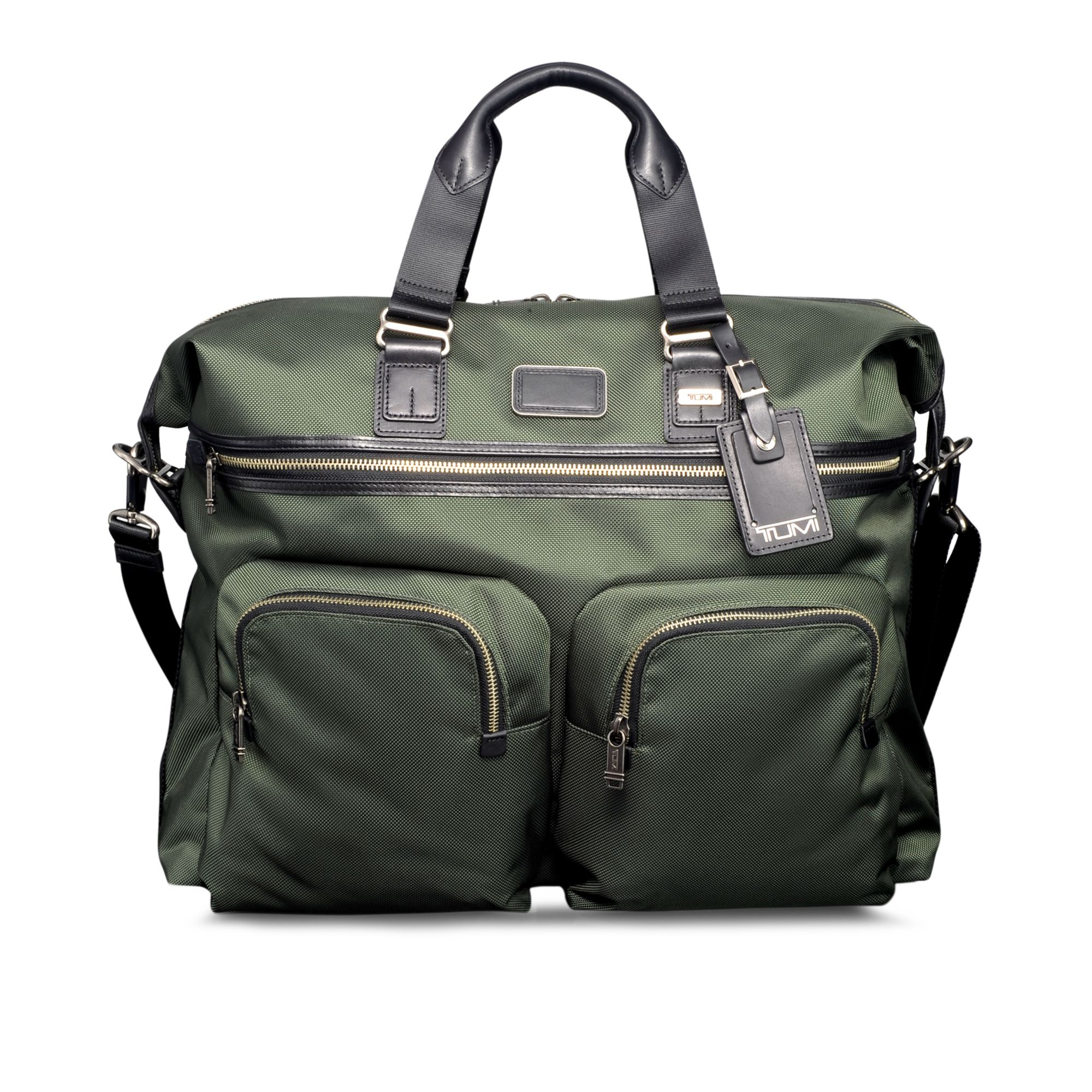 Tumi Alpha Bravo Kessler Large Duffel Bag In Green For Men