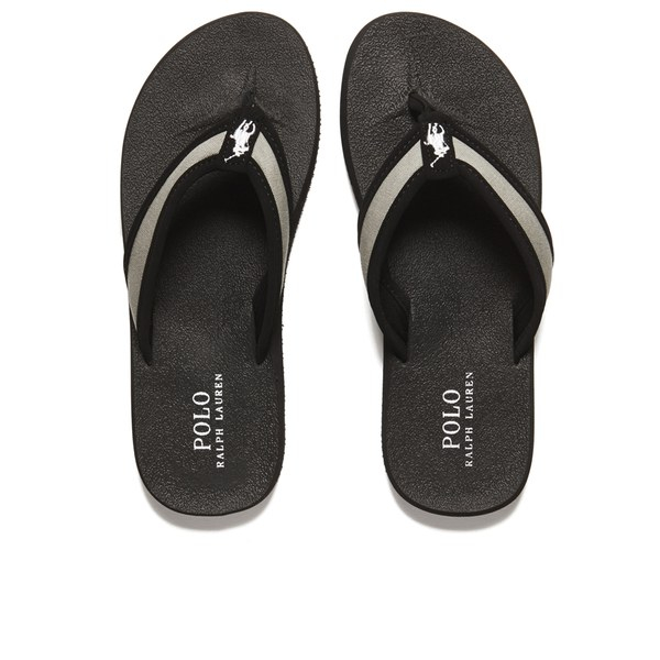 06583de6527 Polo Ralph Lauren Men s Almer Ii -ne Flip Flops in Black for Men - Lyst