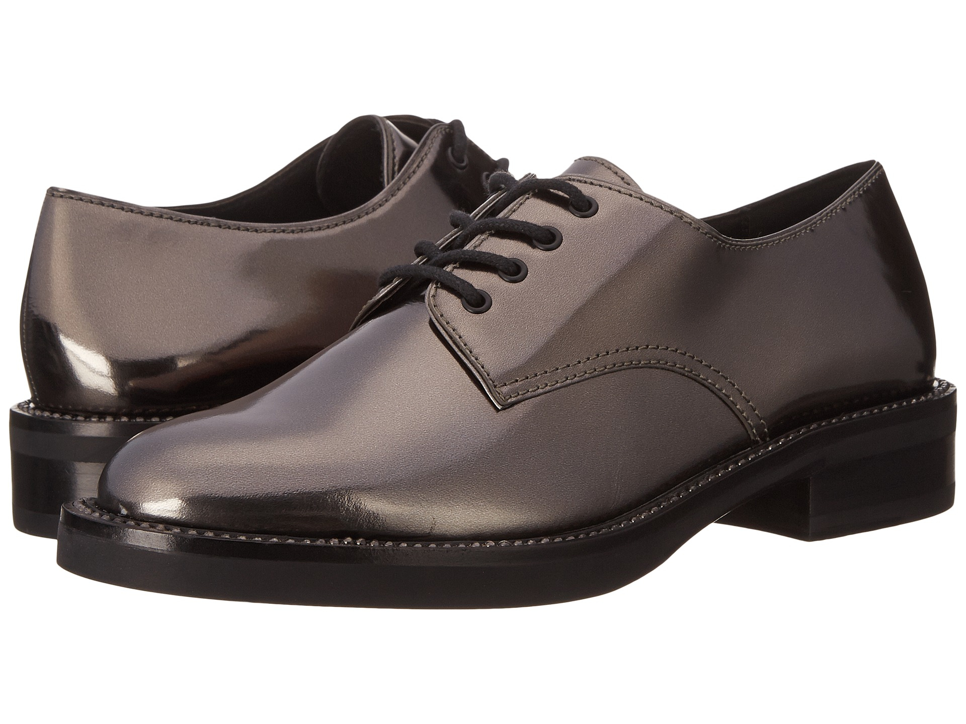 Womens Shoes COACH Erica Gunmetal Metallic