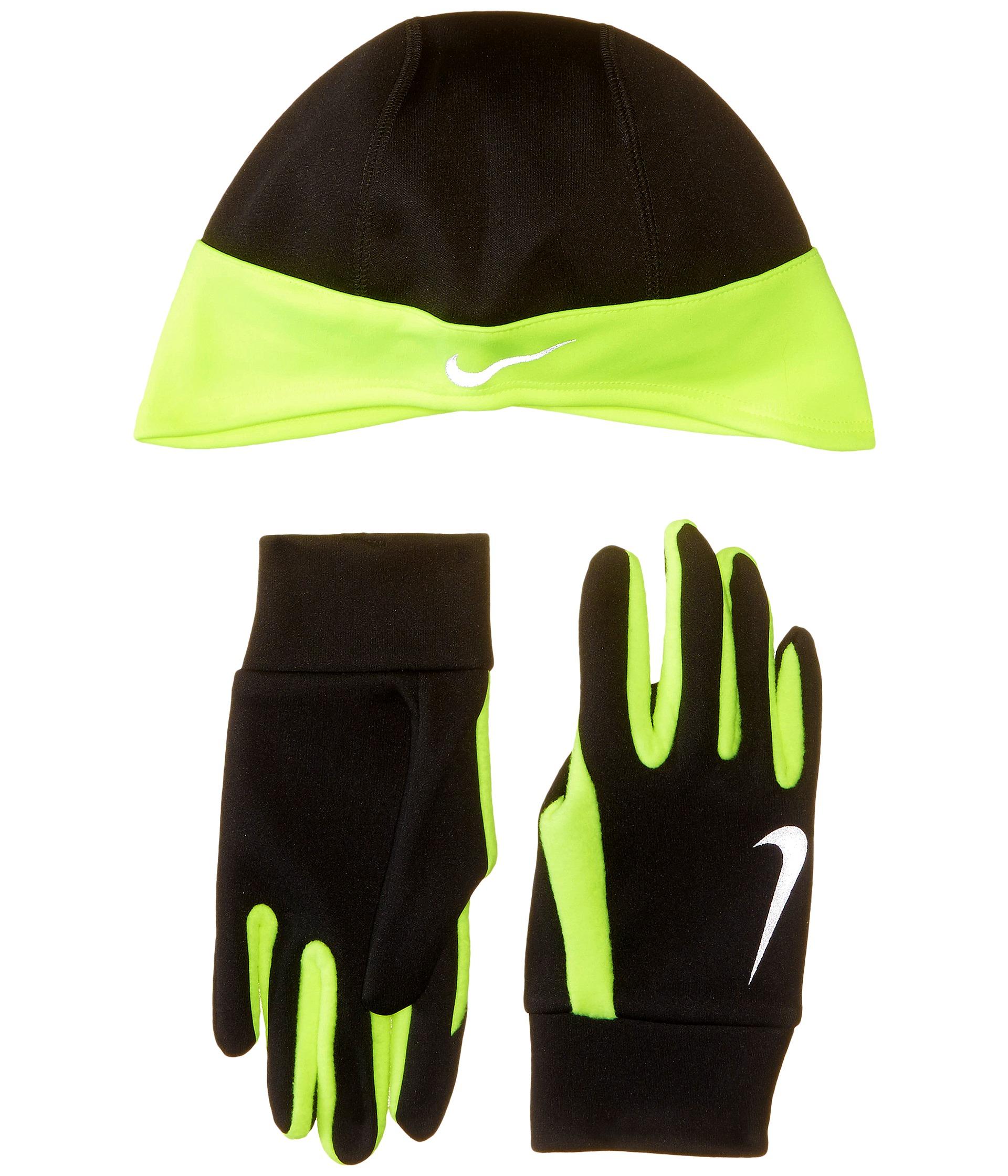c9f194601bff Lyst - Nike Running Thermal Beanie glove Set in Black for Men