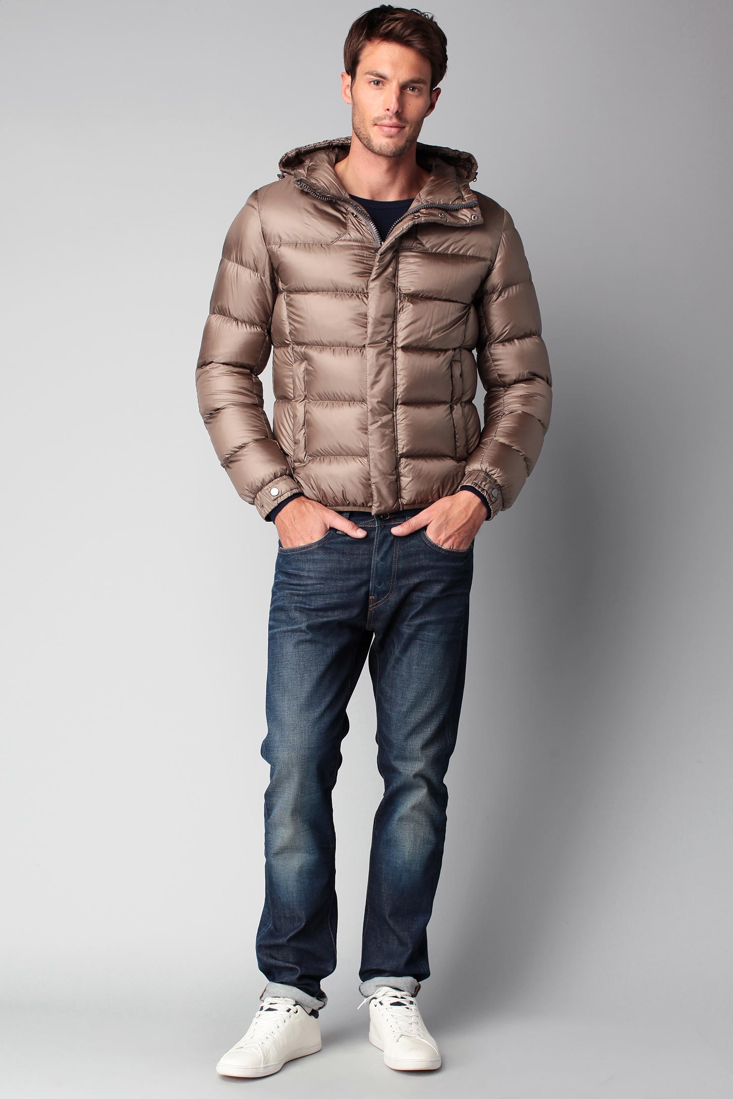 colmar quilted jacket in brown for men lyst. Black Bedroom Furniture Sets. Home Design Ideas