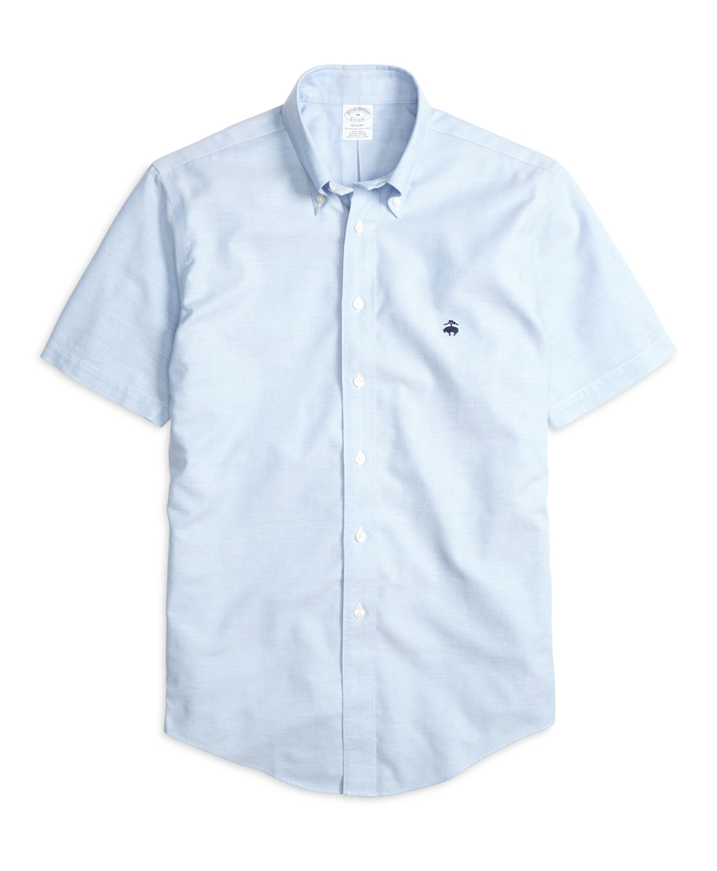 Lyst brooks brothers non iron madison fit oxford short for Brooks brothers non iron shirts review