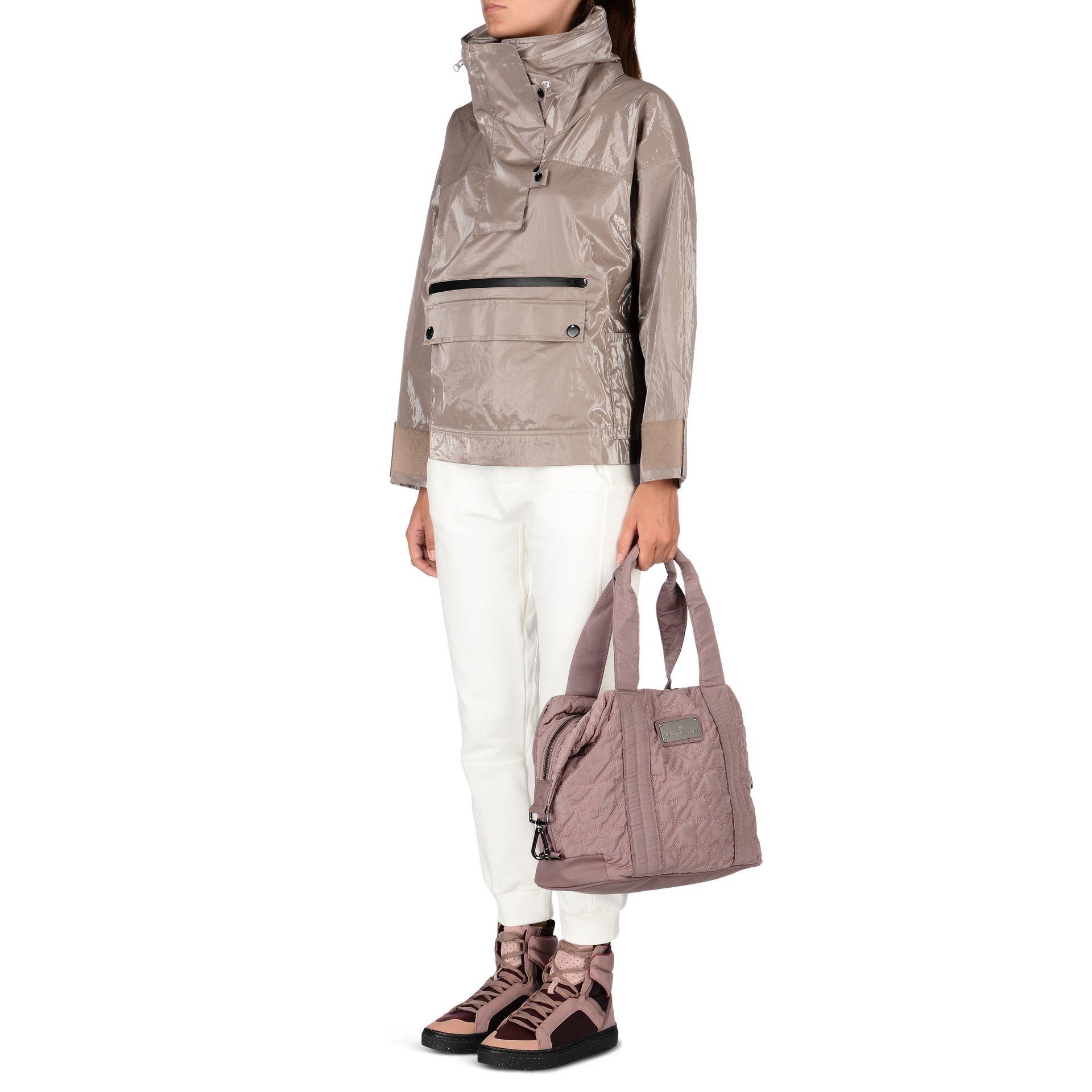 Lyst - adidas By Stella McCartney Small Gym Bag in Gray bf5ee7b89ee79