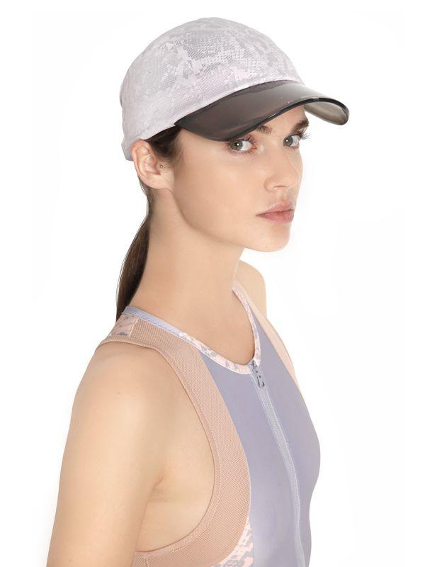 c2d7c5ca5ad86 adidas By Stella McCartney Adizero Snakeskin Printed Running Hat in ...