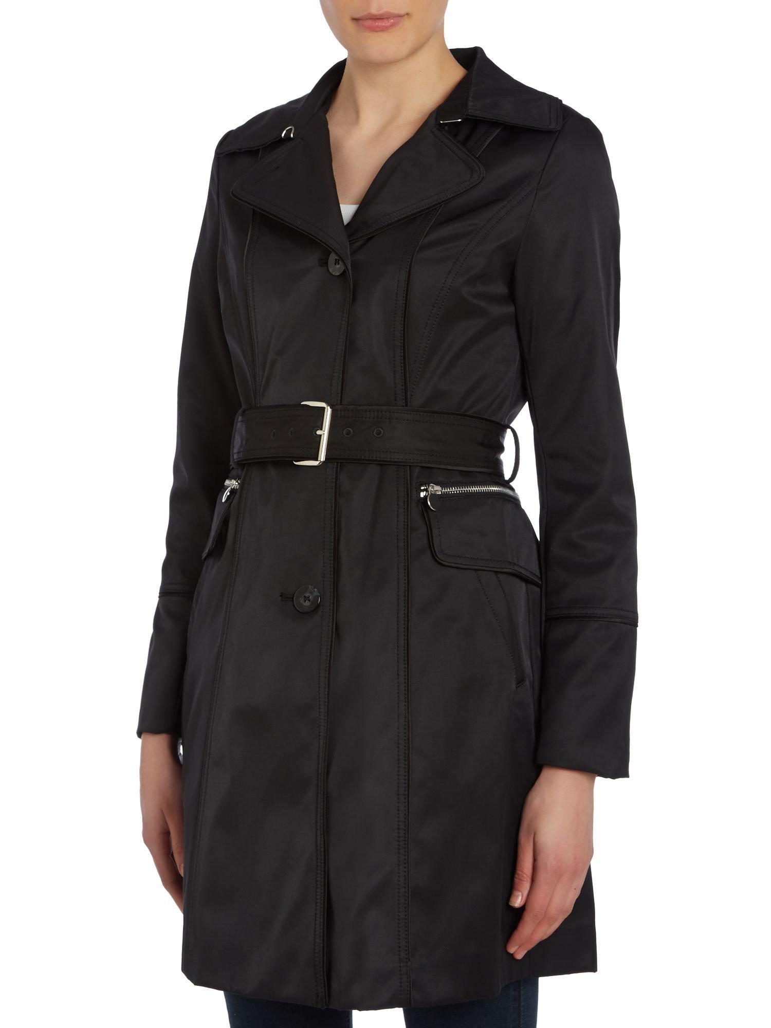 Dawn Levy Rain Coat in Black
