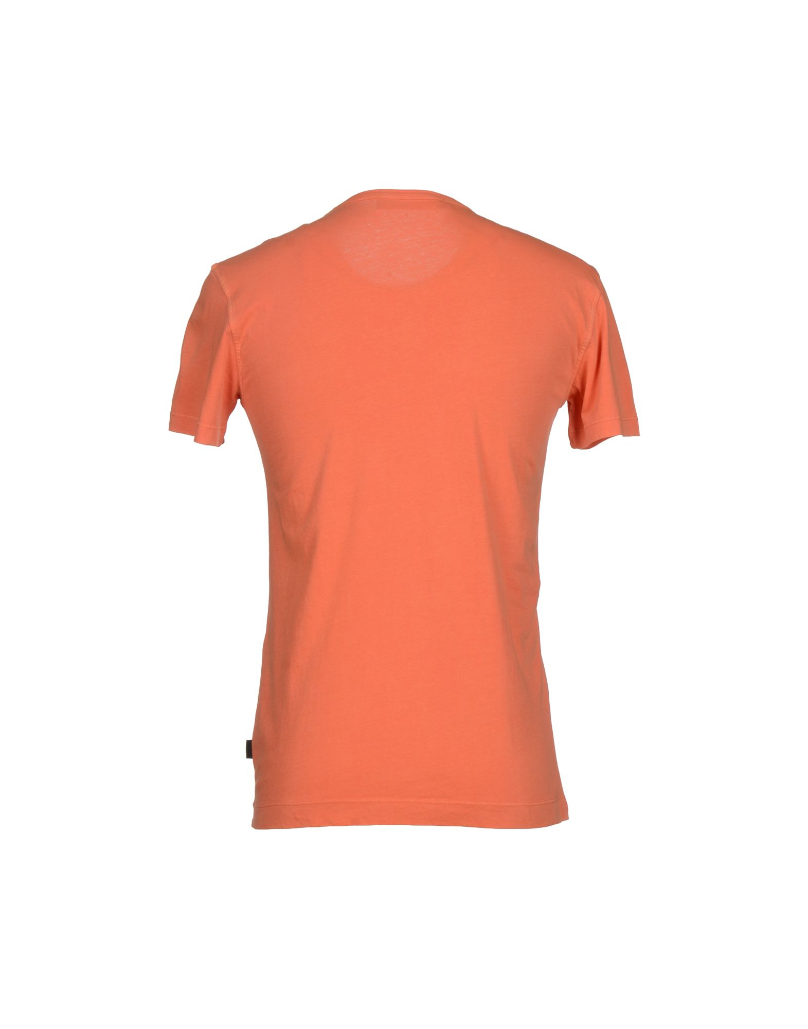 love moschino t shirt in orange for men lyst. Black Bedroom Furniture Sets. Home Design Ideas