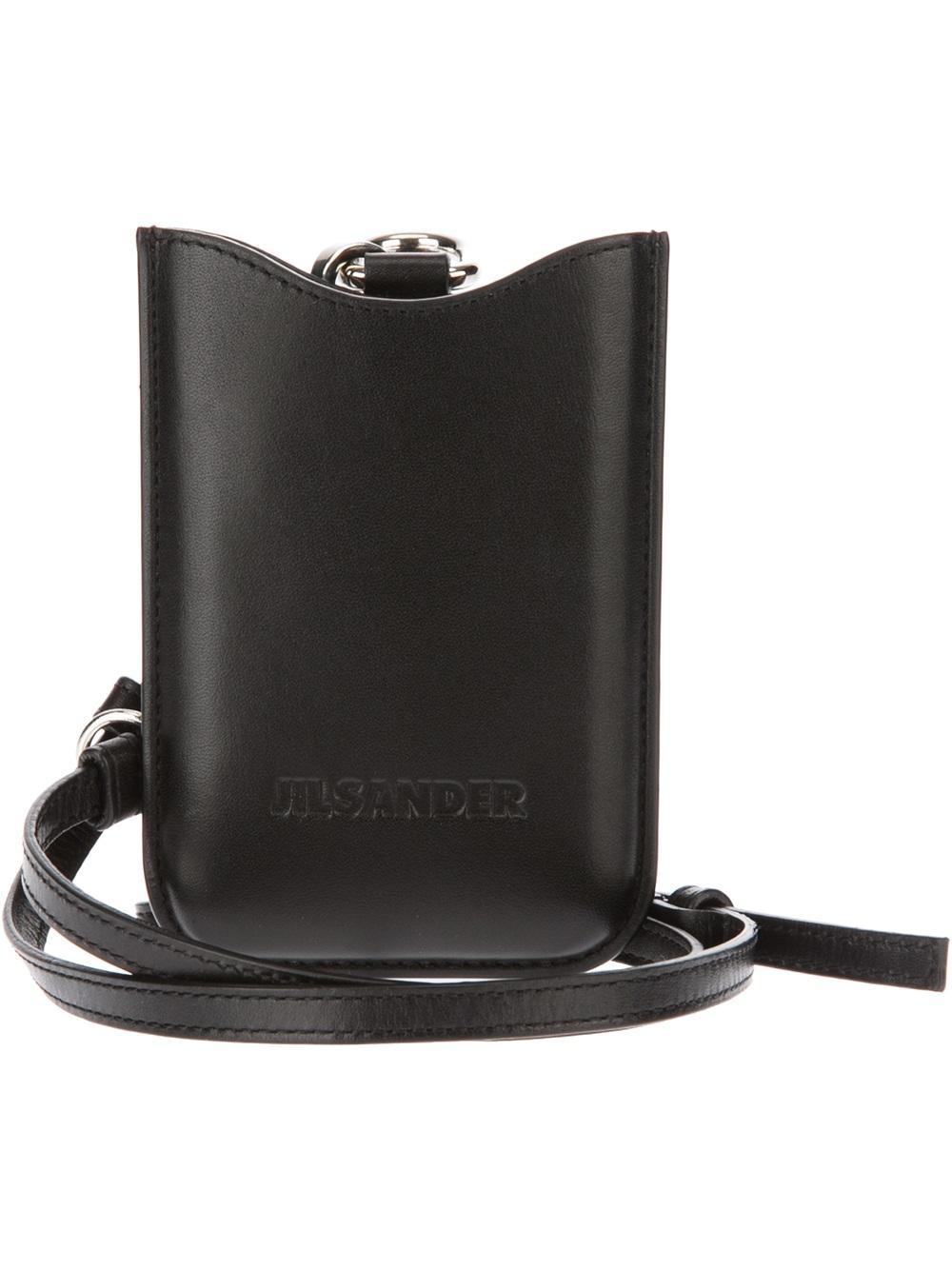 Jil sander Iphone Case in Black for Men