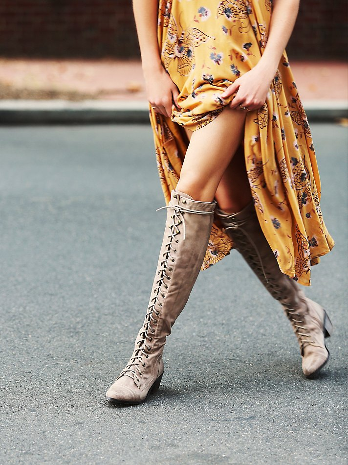 Lyst Free People Jeffrey Campbell For Womens Joe Lace Up