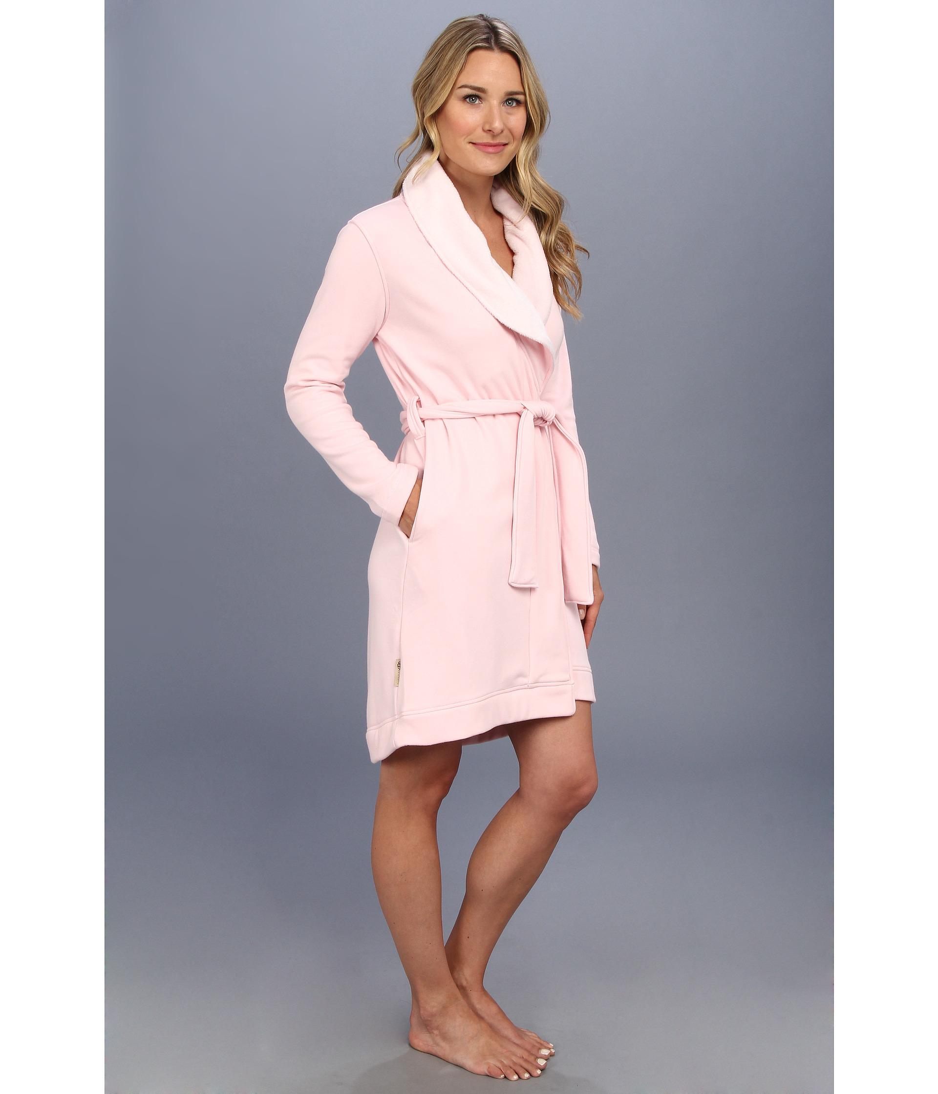 Lyst - UGG Blanche Robe in Pink 88de5b2b2
