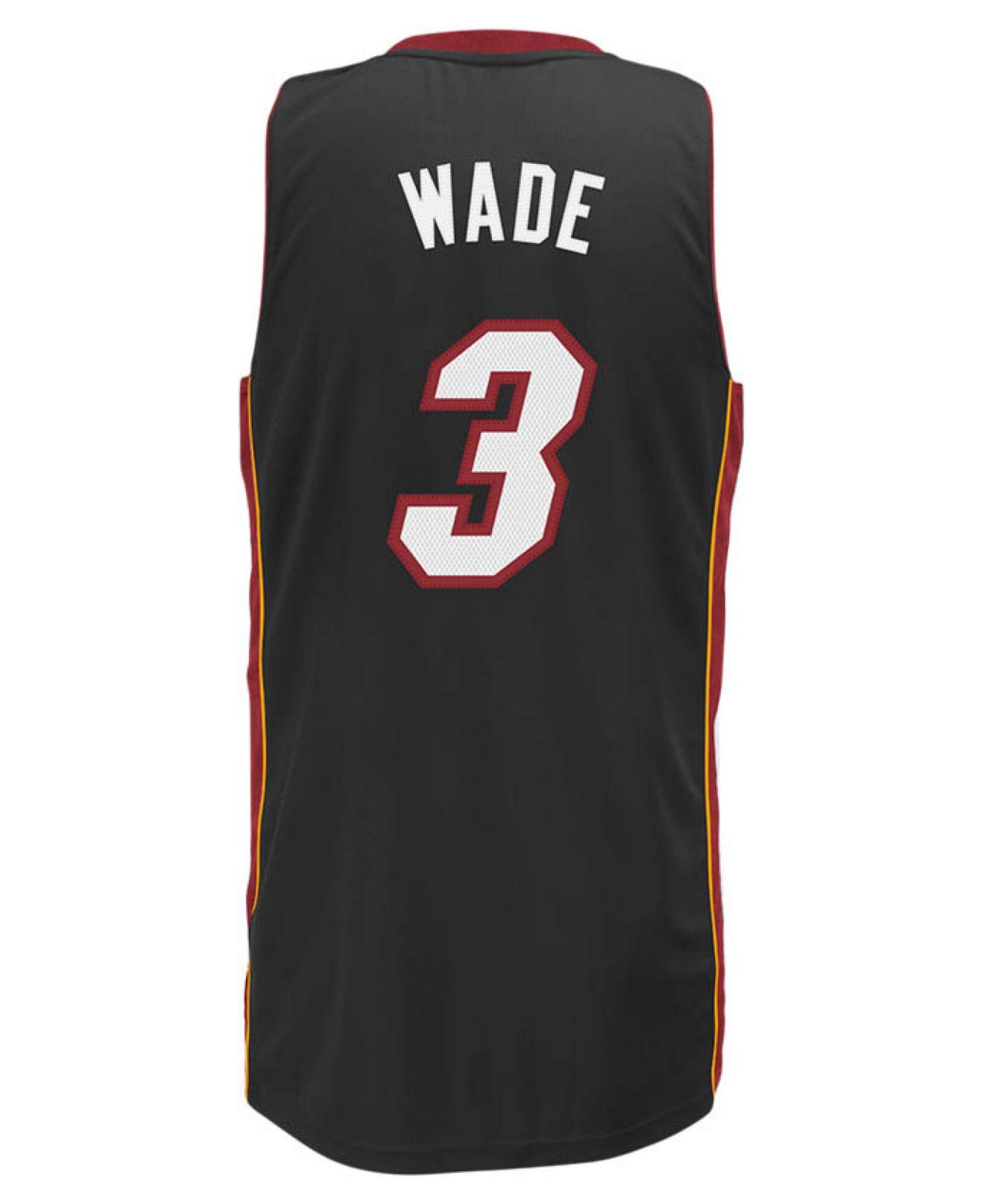 Adidas originals Men s Dwyane Wade Miami Heat Swingman Jersey in ... d9c92e690