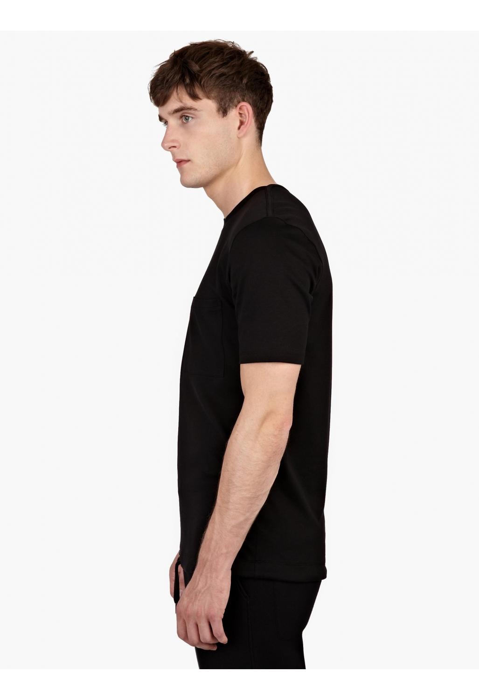 helmut lang knitted t shirt in black for men lyst. Black Bedroom Furniture Sets. Home Design Ideas