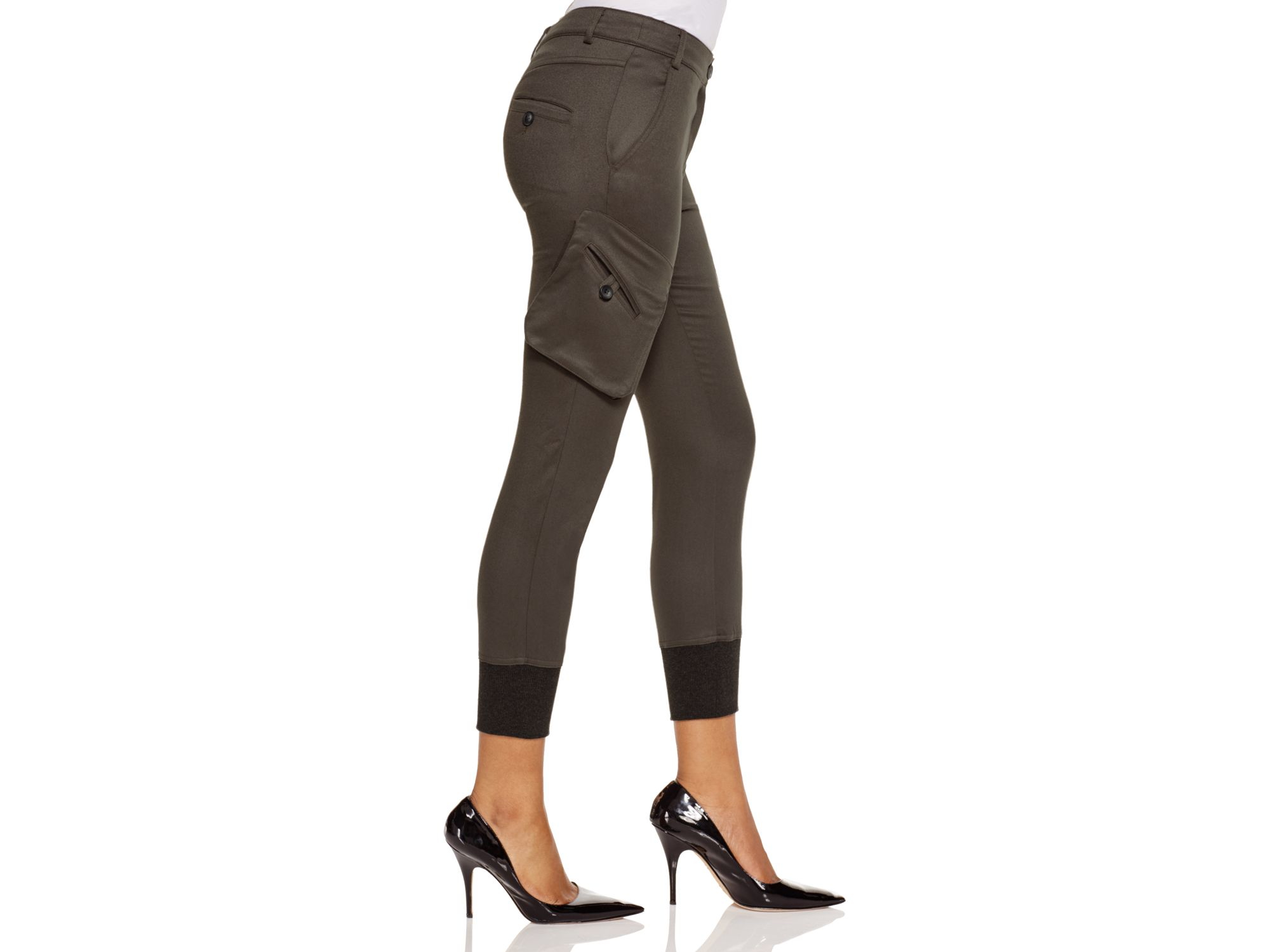 Unique Olive Green Cargo Pants Women  EBay