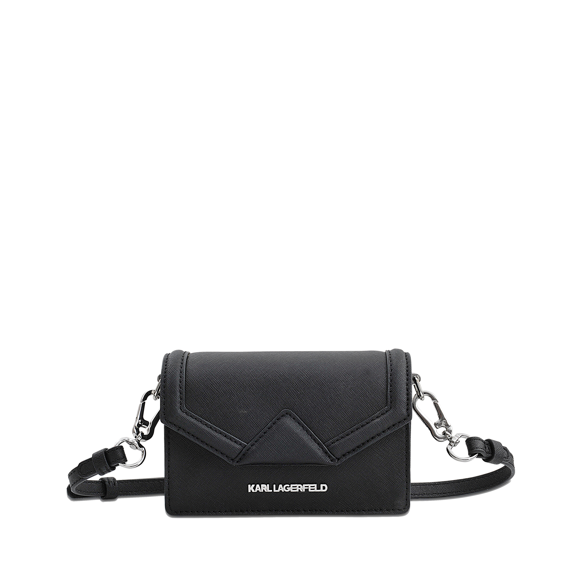 Lyst Karl Lagerfeld Klassic Super Mini Crossbody Bag In Black