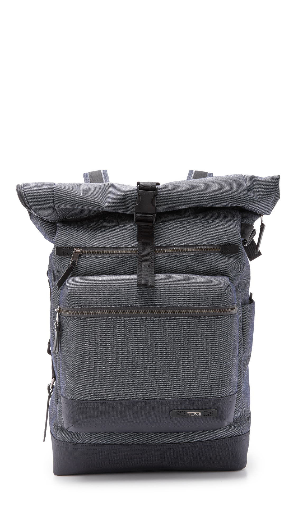 Tumi Dalston Ridley Roll Top Backpack In Gray For Men Lyst