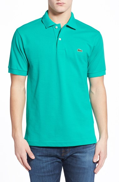 0c5580a9115 Lacoste  l1212  Pique Polo in Green for Men - Lyst