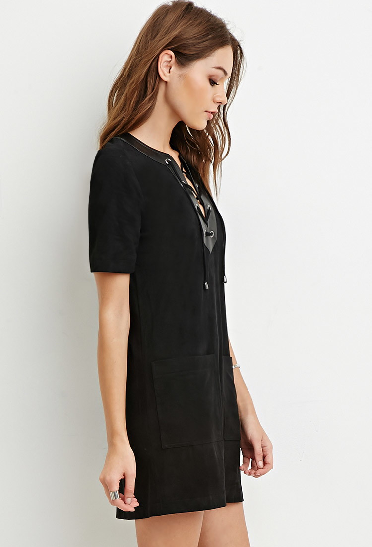 Forever 21 black dress lace