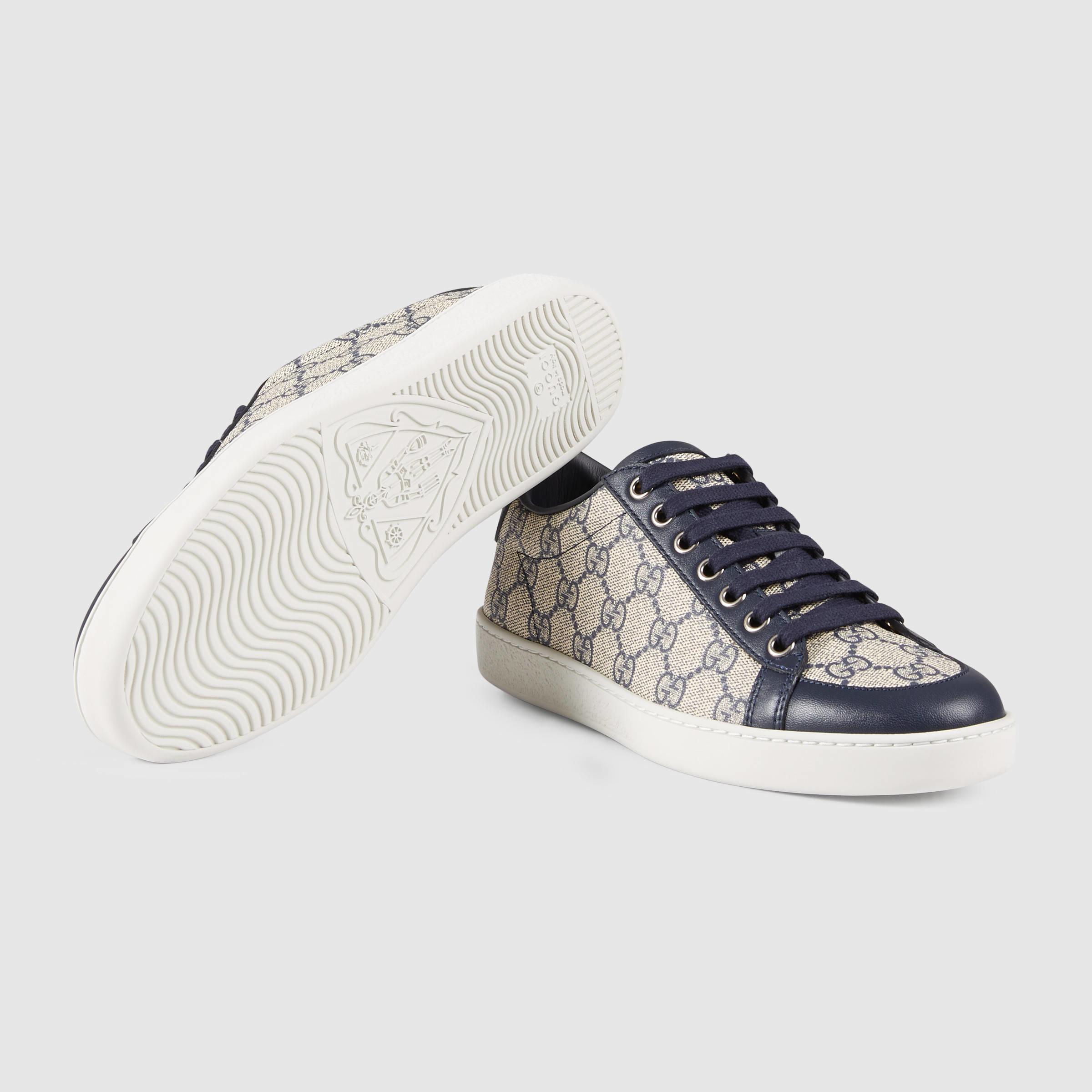 52636273732 Lyst - Gucci Brooklyn GG Supreme Sneaker in Blue