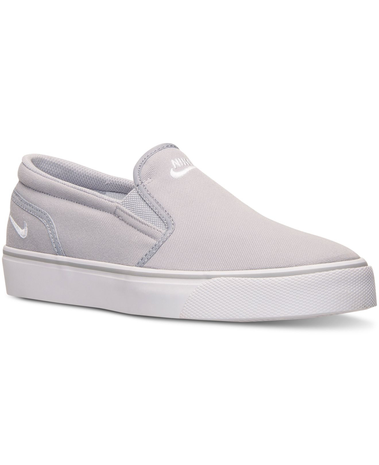 4e0d30a6a37f0e ... Lyst - Nike Men s Toki Low Slip Casual Sneakers From Finish Line in  Gray for  Toki Men s Slip-On Shoes Nike - Z201077 OEy9 ...