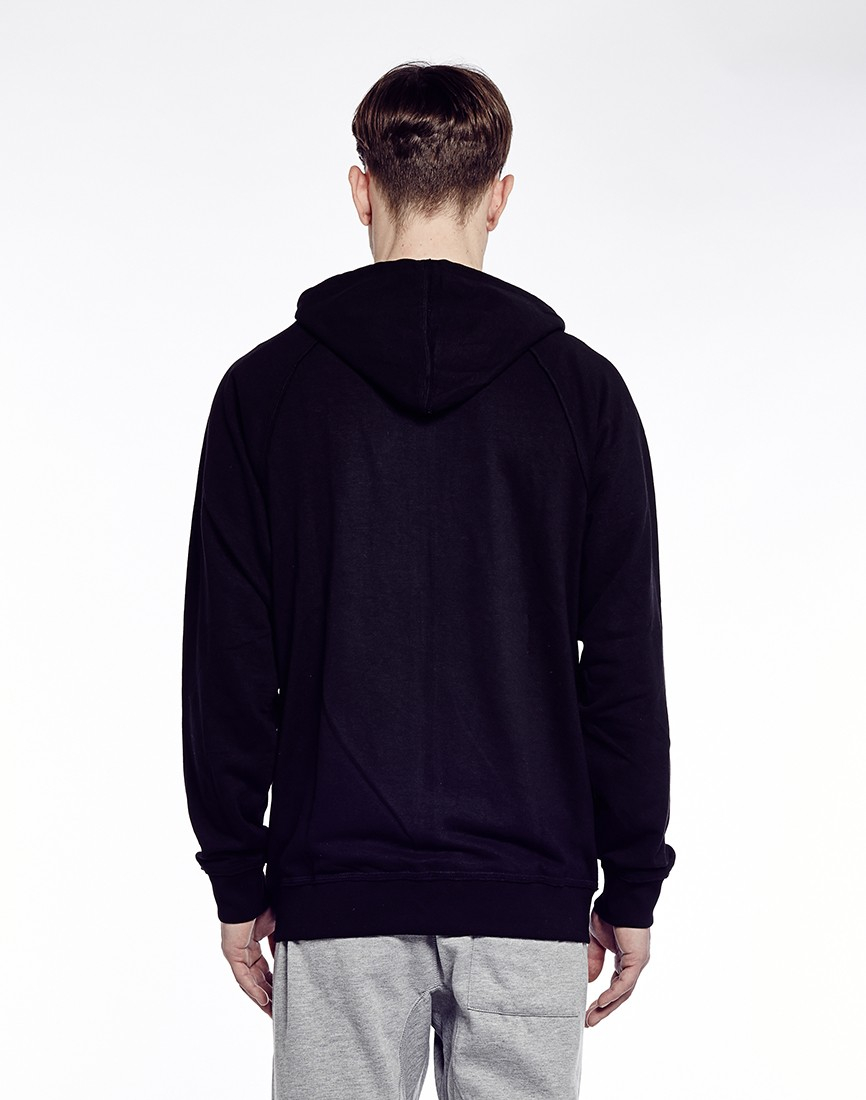 Cheap monday Leon Zip-Up Hoodie in Black for Men | Lyst