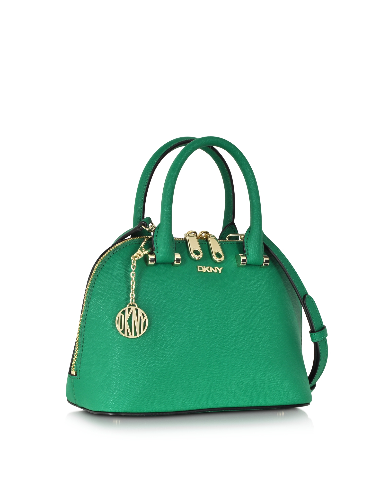 Lyst - Dkny Bryant Park Grass Green Saffiano Leather Mini ... Michael Kors Pink Crossbody Bags