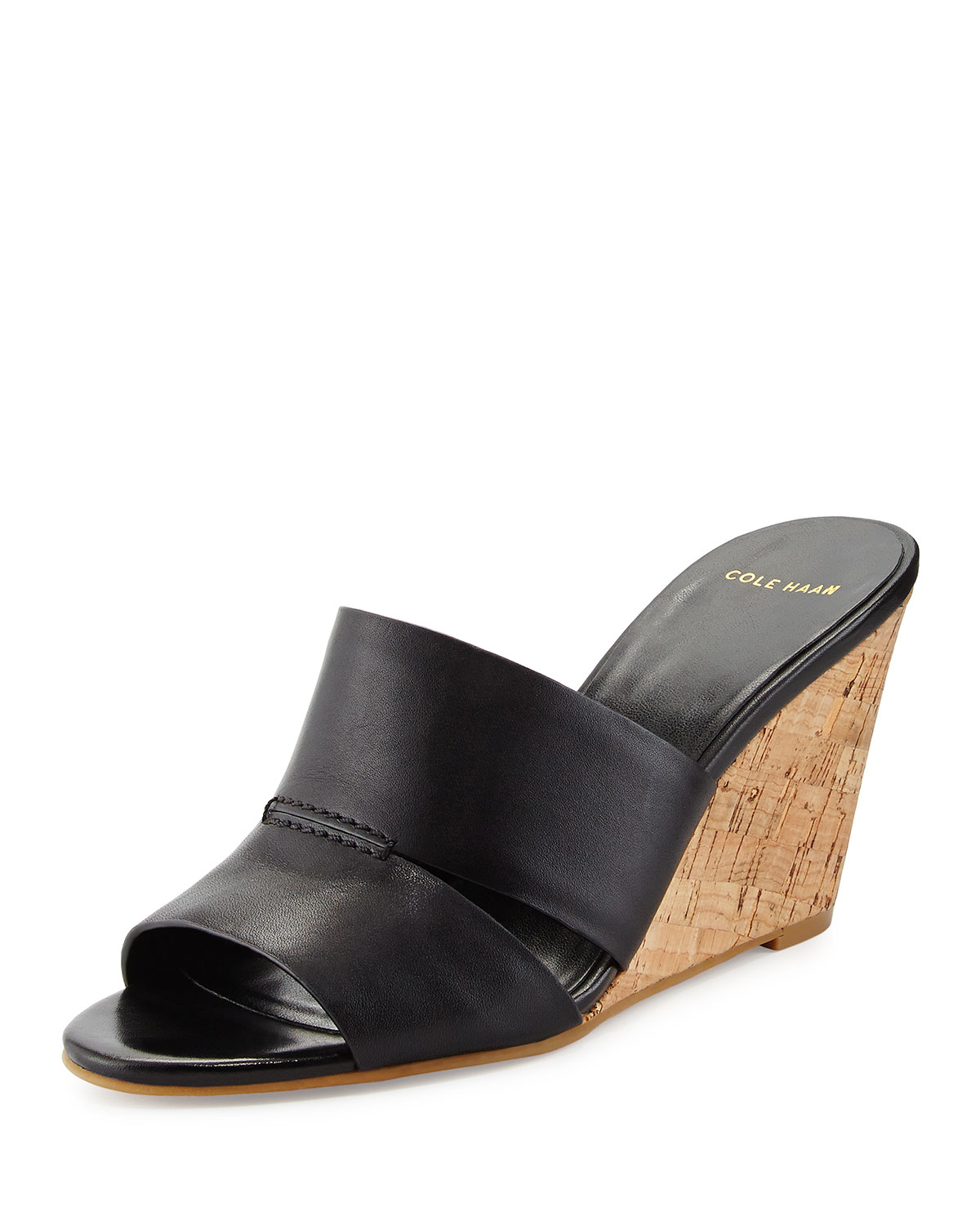 Details about FOSSIL Women's Slip On Wedge Heel Black Leather Sandals Size FOSSIL Women's Slip On Wedge Heel Black Leather Sandals Size | Add to watch list. Find out more about the Top-Rated Seller program - opens in a new window or tab. regaliathreads. % Positive feedback.