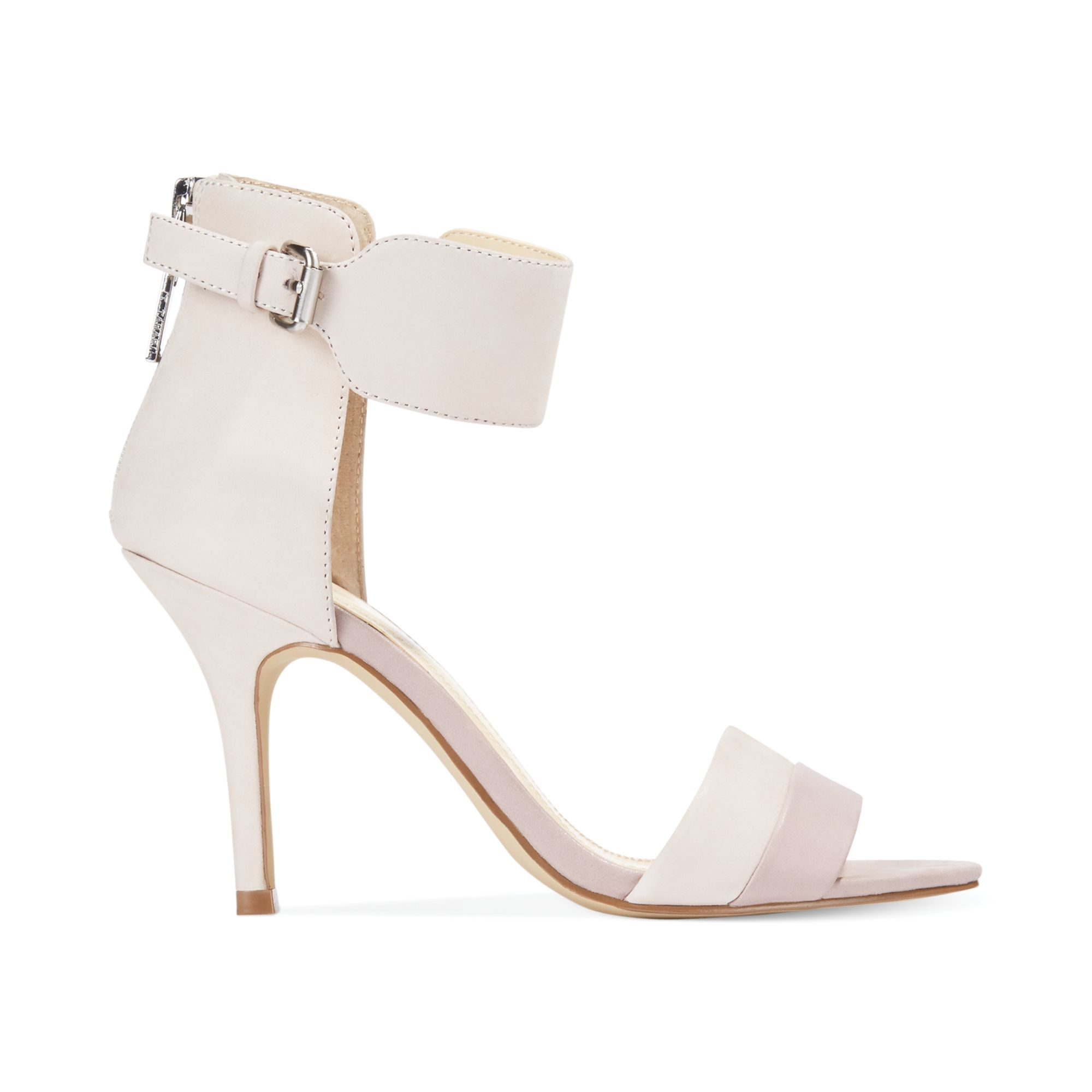 bbdb5e1ae95 Lyst - Tahari Laura Two Piece Sandals in White