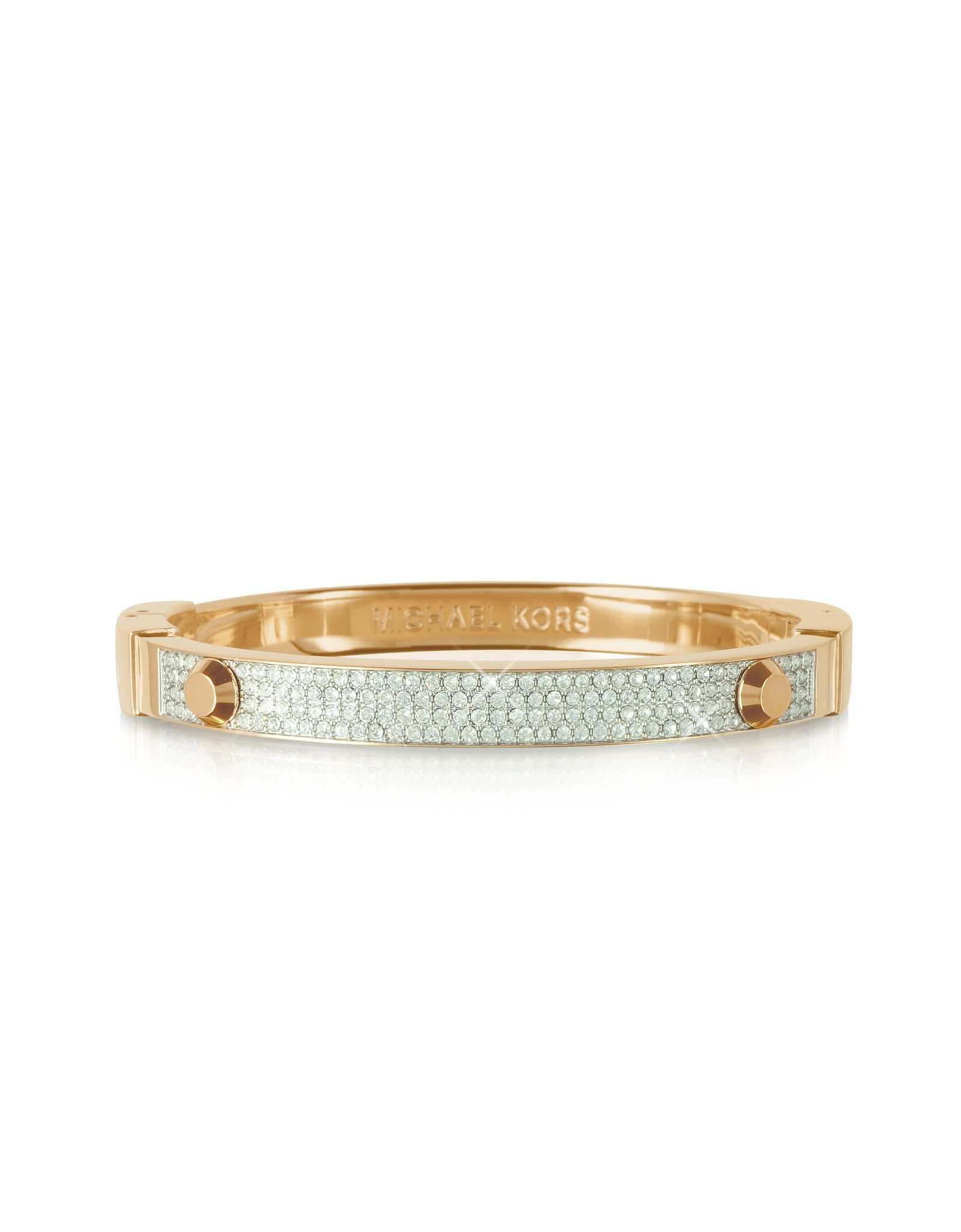 ... Pave Hinge Bracelet Golden Michael Kors | Car Interior Design