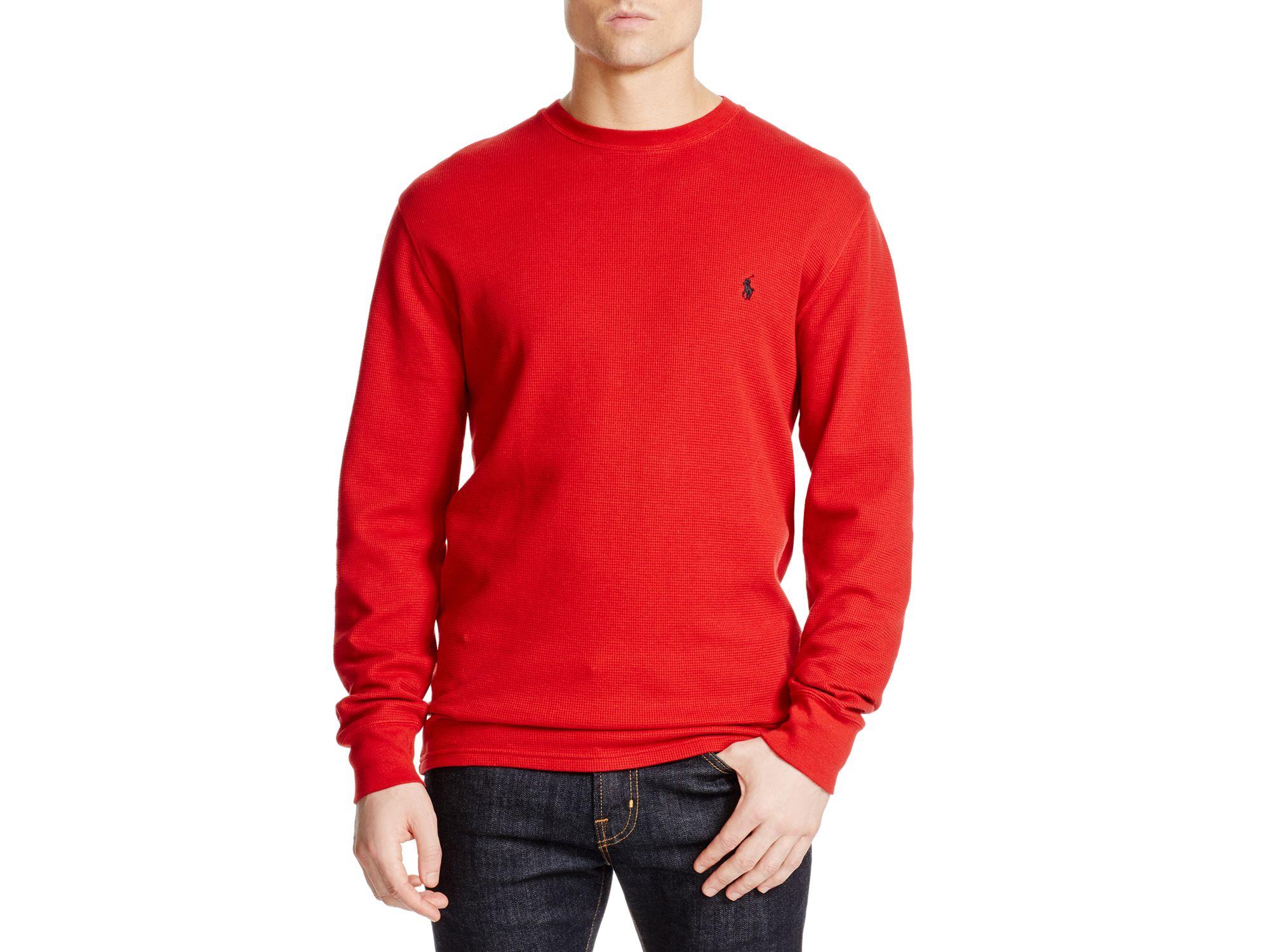 Spain Red Ralph Lauren Long Sleeve 1d2c0 Cc522